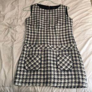 Laundry by Shelli Segal tweed dress